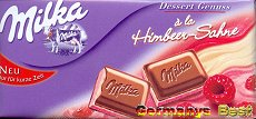 Milka a la Himbeer-Sahne -Only for a short time-