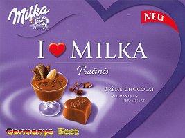 I Love Milka Crème Chocolat Pralinés
