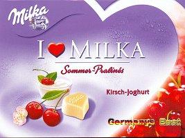 I Love Milka Kirsch-Joghurt Pralinés (Limited Edition)