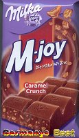 Milka M-joy Caramel Crunch