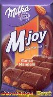 Milka M-joy Ganze Mandeln