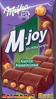 Milka M-joy Ganze Haselnuss