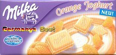 Milka Orange Yogurt ( Limited Edition )