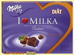 I Love Milka Nougat Pralinés – Diaet