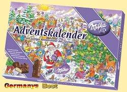 Milka Weihnachtskalender.Milka Adventskalender Motiv Tag Half Price Special