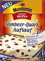 Mondamin Himbeer-Quark Auflauf