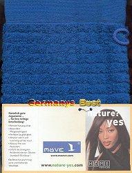 Moeve Waschhandschuh, Blue