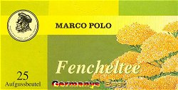 Marco Polo Fencheltee, 25 Beutel