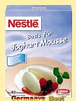 Nestle Basis fuer Joghurt Mousse