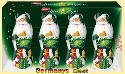 Nestle After Eight 4 Mini Santa Claus