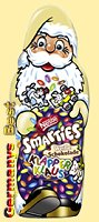 Nestle Smarties X-Mas Klapper Klaus Weiss