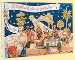 Niederegger Adventkalendar Weihnachtskrippe