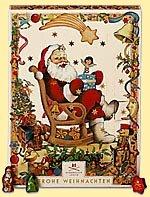 Niederegger Adventkalendar Weihnachtsmann