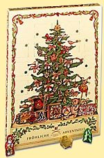 Niederegger Adventkalendar Tannenbaum