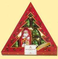 Niederegger Marzipan Weihnachtsmann im Wald
