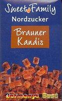 Sweet Family Nordzucker Brauner Kandis