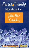 Sweet Family Nordzucker Kandis Weiss