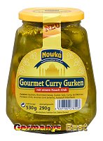 Nowka Gourmet Curry Gurken