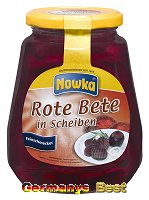 Nowka Rote Bete in Scheiben
