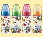 Nuk First Choice Flasche 300ml bunt