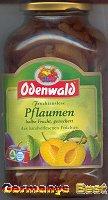 Odenwald Fruchtauslese Pflaumen -halbe Frucht, gezuckert-