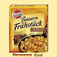 Pfanni Bauern Frühstück mit Speck und Ei -klassisch-