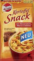 Pfanni Kartoffel Snack mit Röstzwiebeln, Käse & Crountons