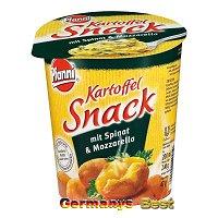Pfanni Kartoffel Snack mit Spinat u. Mozzarella