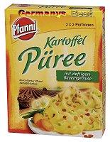 Pfanni Kartoffel Püree mit deftigen Bauerngemüse