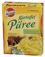 Pfanni Kartoffel Püree mit Kräuter & Creme fraiche