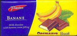 Piasten Banane Schokolade