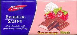 Piasten Erdbeer Sahne Schokolade