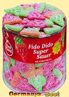 Redband Fruchtgummi Fido Dido, super sauer