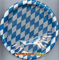 Riethmüller 8 Party-Teller -Bayrisch-