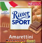 Ritter Sport Amarettini -Only for a short time-