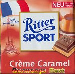 Ritter Sport Creme Caramel -Only for a short time-