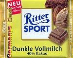 Ritter Sport Dunkle Vollmilch -40 % Kakao-