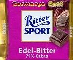 Ritter Sport Edel Bitter 71%
