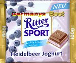 Ritter Sport Blueberry Yogurt