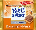 Ritter Sport Caramel+Nuts