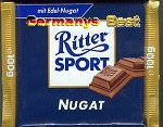 Ritter Sport Nugat -Maxi-