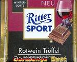 Ritter Sport Rotwein Trüffel -Winter Edition-