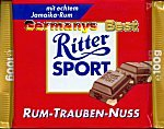 Ritter Sport Rum-Trauben-Nuss