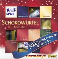 Ritter Sport Schokoladen Würfel -Winter Edition-