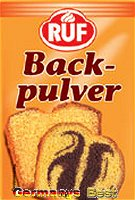 Ruf Backpulver, 6 bags