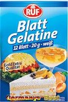 Ruf Blattgelatine -weiß-