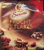 Sarotti Fruit&Flakes Cranberry