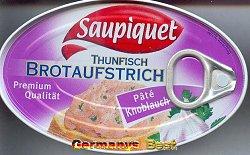 Saupiquet Thunfisch Brotaufstrich -Pate Knoblauch-