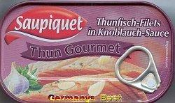 Saupiquet Thun Gourmet -Knoblauch-Sauce-