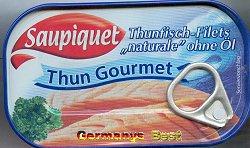 Saupiquet Thun Gourmet -Naturale-